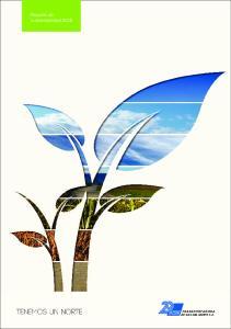 Reporte de sustentabilidad 2012