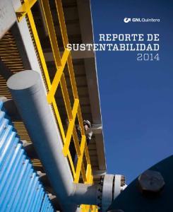 REPORTE DE SUSTENTABILIDAD 2014