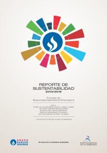 REPORTE DE SUSTENTABILIDAD