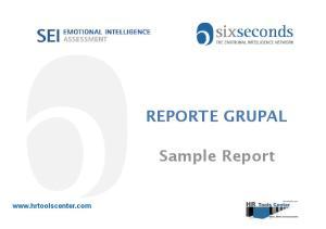 REPORTE GRUPAL. Sample Report