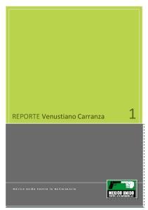 REPORTE Venustiano Carranza