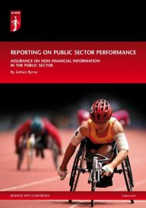 REPORTING ON PUBLIC SECTOR PERFORMANCE