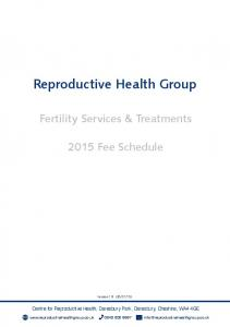 Reproductive Health Group