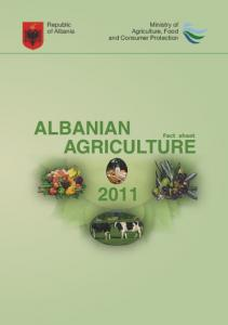 Republic of Albania. Ministry of Agriculture, Food and Consumer Protection