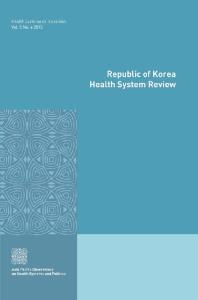 Republic of Korea Health System Review
