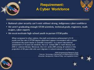 Requirement: A Cyber Workforce