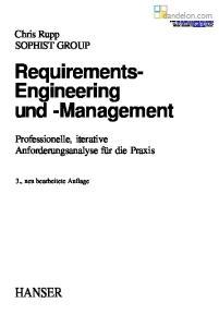 Requirements- Engineering und -Management