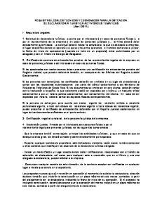 REQUISITOS LEGALES TECNICOS Y ECONOMICOS PARA LA OBTENCION DE DECLARATORIA TURISTICA ACTIVIDADES TEMATICAS (Abril 2011)
