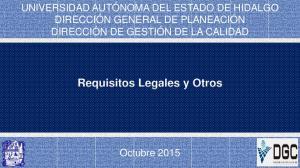 Requisitos Legales y Otros
