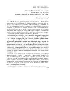RESEA BIBLIOGR`FICA. Roberto Garca Ortega 1