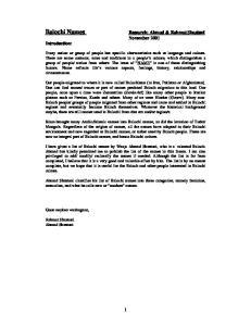 Research: Ahmad & Rahmat Shastuni November 2001