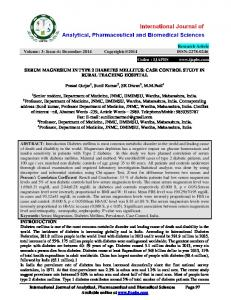 Research Article Volume: 3: Issue-6: December-2014 ISSN: