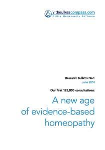 Research Bulletin No.1 - June 2014