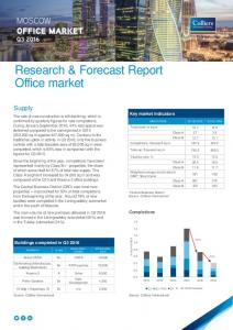 Research & Forecast Report Office market