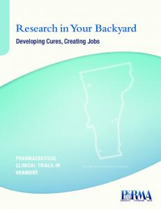 Research in Your Backyard