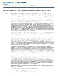 Research Report on China's Polyvinyl Chloride (PVC) Industry,