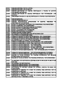 RESECCION DE TUMORES DE LA BASE DEL CRANEO, FOSA ANTERIOR, POR VIA TRANSZIGOMATICA Y TRANSPALATAL RESECCION DE TUMORES DE LA BASE DEL