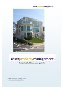 Residential Block Management Specialists