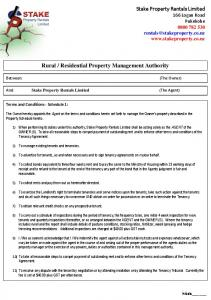 Residential Property Management Authority