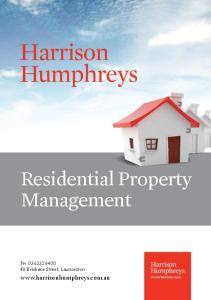 Residential Property Management. Ph Brisbane Street, Launceston