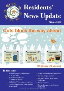 Residents News Update Winter 2012