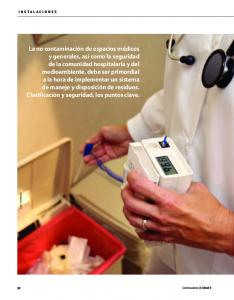 Residuos. hospitalarios, claves para su manejo