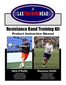 Resistance Band Training Kit