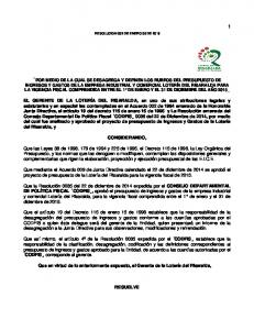 RESOLUCION 002 DE ENERO 05 DE 2015