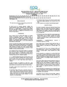 RESOLUCION No.612. Por medio de la cual se hace un requerimiento y se dictan otras disposiciones CONCEPTO TECNICO