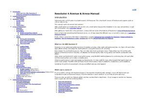 Resolume 4 Avenue & Arena Manual Installing Resolume 4 Registration