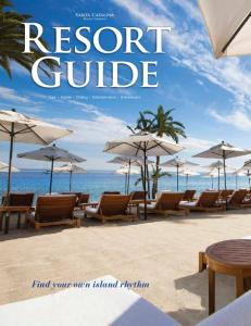 Resort Guide Spa Hotels Dining Entertainment Adventures