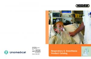 Respiratory & Anesthesia Product Catalog