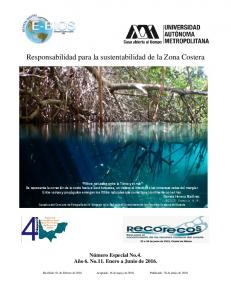 Responsabilidad para la sustentabilidad de la Zona Costera