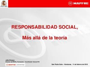 RESPONSABILIDAD SOCIAL,
