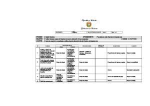 RESPONSABLES PROVEEDORES. Profesionales universitarios, secretarios de despacho y auxiliares administrativos