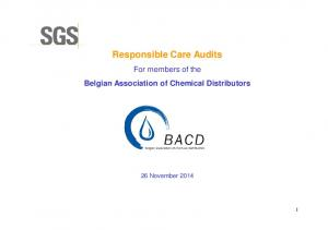 Responsible Care Audits