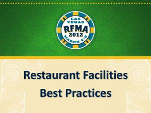Restaurant Facilities Best Practices