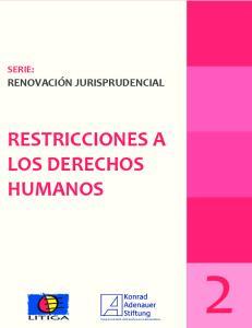 RESTRICCIONES A LOS DERECHOS HUMANOS