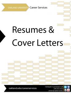 Resume Preparation. Resume Writing