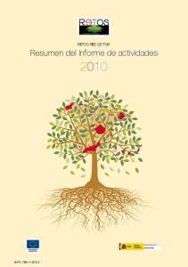 Resumen del Informe de actividades Resumen del Informe de actividades