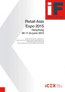 Retail Asia Expo 2015 Hong Kong de junio 2015