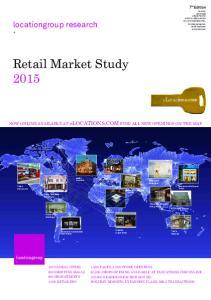 Retail Market Study 2015