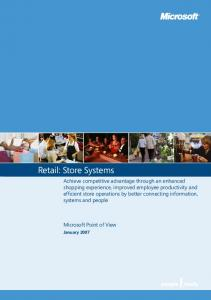 Retail: Store Systems