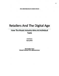 Retailers And The Digital Age