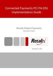 Retalix Global Payments Security Team Version 1.01