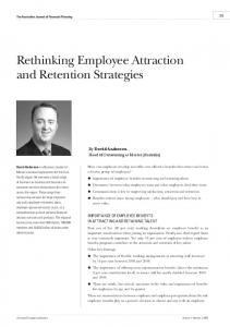 Rethinking Employee Attraction and Retention Strategies