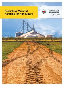 Rethinking Material Handling for Agriculture