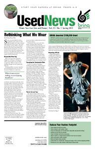 Rethinking What We Wear
