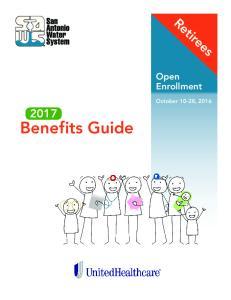 Retirees. Open Enrollment. October 10-28, Benefits Guide