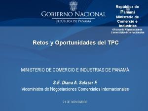Retos y Oportunidades del TPC